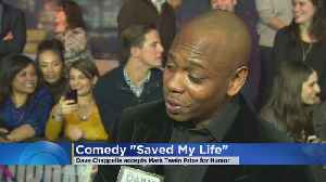 News video: Dave Chappelle Wins Mark Twain Prize For Humor
