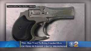 TSA: Man Tried To Bring Loaded Gun On Plane At Newark Liberty International Airport [Video]