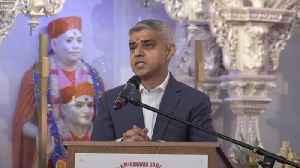 Sadiq Khan uses Diwali to spread Brexit hope [Video]