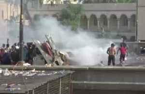 Iraq protest deaths soar past 200, curfew returns [Video]