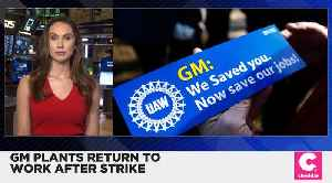 GM Strike Is Over After 40 Days [Video]
