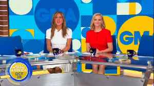 News video: Jennifer Aniston, Reese Witherspoon's 'GMA' Takeover