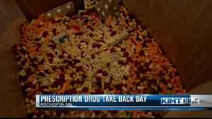 Hundreds of pounds of medication collected at Drug Take Back Day [Video]