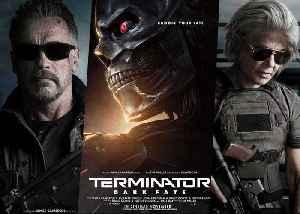 Terminator Dark Fate Movie Clip  - Fight and Flight - Linda Hamilton and Arnold Schwarzenegger vs Terminator! [Video]
