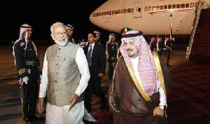 News video: PM Modi arrives at King Saud Palace in Riyadh | OneIndia News