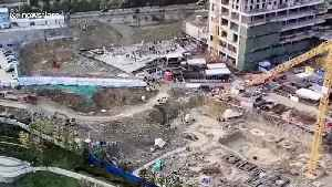 Eight construction workers killed in garage collapse in south China [Video]