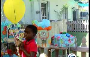 Young boy from the Bahamas gets a birthday party thanks to his classmates [Video]