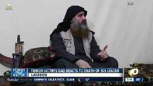 Terror victim's dad reacts to death of ISIS leader [Video]