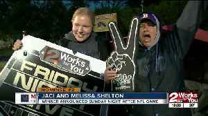 Friday Night Live Super Fan of the Week - Jaci and Melissa Shelton, Bristow [Video]