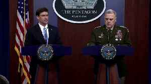 Syria situation still complex despite Baghdadi's death -U.S. officials [Video]