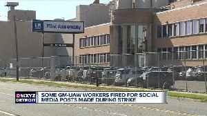 Some GM-UAW workers fired for social media posts made during strike [Video]