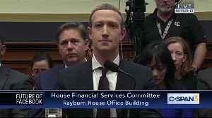 Democrat Maxine Waters lights into Mark Zuckerberg [Video]