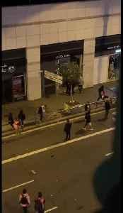 Thugs Loot Foot Locker And Orange Amid Catalan Uprising [Video]