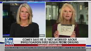 Kellyanne Conway Rips WaPo Headline: Wouldn't Gush If al-Baghdadi Worked in the Trump White House [Video]