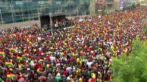 News video: Bolivian opposition invited to audit vote, protesters clash