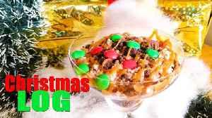 Christmas Log Dessert   No Bake Christmas recipes   Dessert Ideas for Treats [Video]