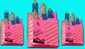 Cascade Card | DIY | Card Making | Craft Ideas | Birthday Cards [Video]