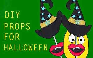 How to Make a Witch Hat | Halloween Props Ideas | Looke Art and Craft [Video]