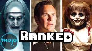 Every Movie in The Conjuring Universe Ranked from Worst to Best! [Video]