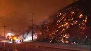 Fire Threatens L.A. Homes, Blaze In Wine Country Rages [Video]