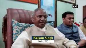 Not appropriate to say anything before SC verdict in Ayodhya case BJP Kalyan Singh [Video]