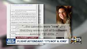 News video: Lawsuit: Southwest pilots streamed video from bathroom cam