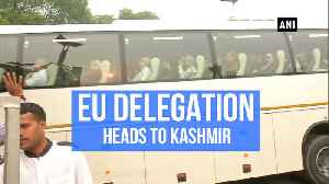 News video: 'Want to see ground situation first hand': EU delegation on Kashmir visit