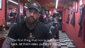Homeless given chance to train as barbers [Video]