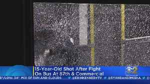 New Video Shows CTA Bus Scene Where Boy, 15, Was Shot In South Chicago [Video]