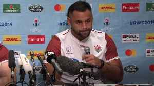 Bring it on - Billy Vunipola relishing South Africa's physical challenge [Video]