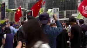 Hundreds Surround A Barcelona Train Station Protesting Recent Political Arrests [Video]