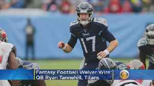 Fantasy Football Waiver Wire Week 9 [Video]