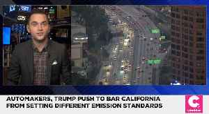 GM, Toyota and Fiat Chrysler Side With Trump on California Emission Standards [Video]