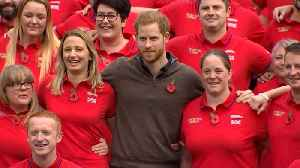 Prince Harry Meets U.K. Invictus Games Team [Video]
