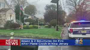 Fire Under Control After Small Plane Crashes In New Jersey [Video]