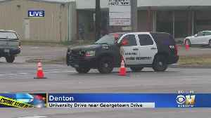"""""""Shots Fired! Officer Down!"""" Call Over Radio After Shooting In Denton [Video]"""