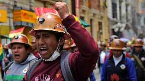 Bolivia election: Street clashes between backers and foes of Morales