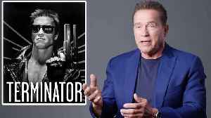 Arnold Schwarzenegger Breaks Down His Most Iconic Characters [Video]