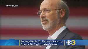 Pennsylvania To Extend Security Grants To Fight Hate Crimes [Video]