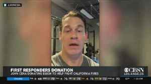John Cena Donates $500K To Support Firefighters [Video]