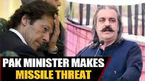 News video: Pakistan Minister makes missile threat against India and the world | OneIndia News