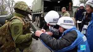 News video: East Ukraine conflict: Army, separatists pull troops ahead of summit with Russia
