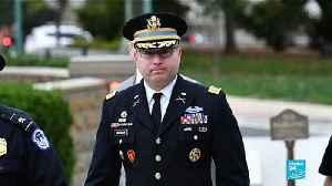 Army officer says Trump Ukraine call raised concerns [Video]