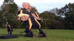 Bercow, Johnson and Corbyn effigies to be burnt at famous Edenbridge Bonfire Night event in Kent [Video]