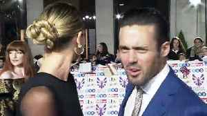 Vogue Williams and Spencer Matthews have red carpet spat [Video]