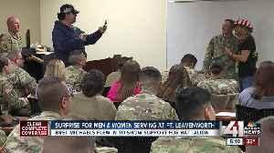 Bret Michaels makes surprise visit to Fort Leavenworth [Video]