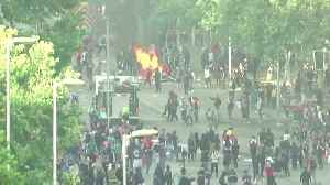 Police, protesters square off in Chilean streets [Video]