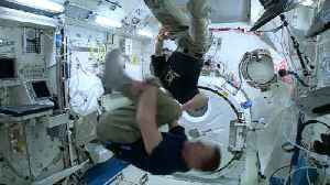 Astronaut Spins 80 Times to See if Dizziness Can Be Induced in Space [Video]