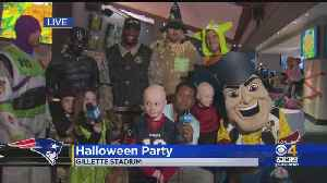 Patriots, Kraft Family Host Halloween Party For Kids With Cancer [Video]