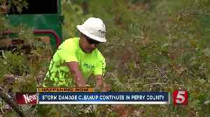 "'It looks like a war zone."" Storm debris cleanup continues in Perry County [Video]"